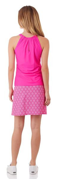 Jude Connally Claire Top in Summer Pink - FINAL SALE - Saratoga Saddlery & International Boutiques