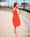 Jude Connally Capsule Collection - The Hamptons Fit & Flare Lace Dress