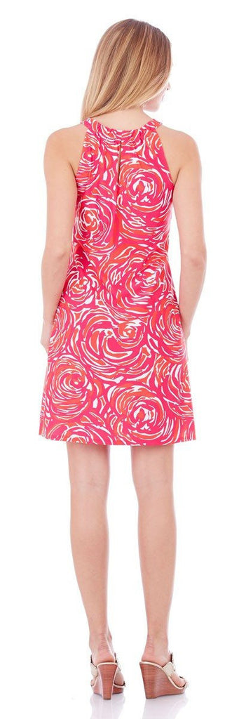 Jude Connally Lisa Dress in Rose Garden Berry