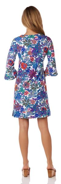 Jude Connally Megan Tunic Dress in Botantical Floral White