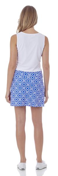 Jude Connally Morgan Skort in Grand Links Sapphire SALE! - Saratoga Saddlery & International Boutiques