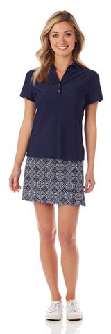 Jude Connally Kerry Tunic Dress in Summer Foulard White Blue SALE!