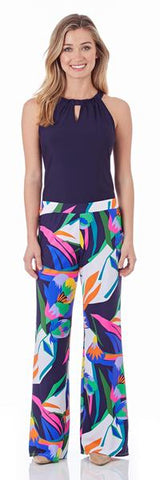 Jude Connally Morgan Skort in Ocean Abstract Aqua