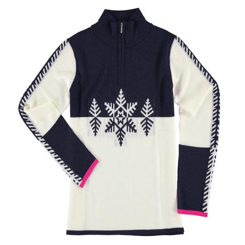 Krimson Klover Acro Skier Quarter Zip Pullover Sweater ON SALE!