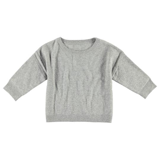 Krimson Klover Serendipity Cashmere Sweater in Mid Grey - ON SALE!