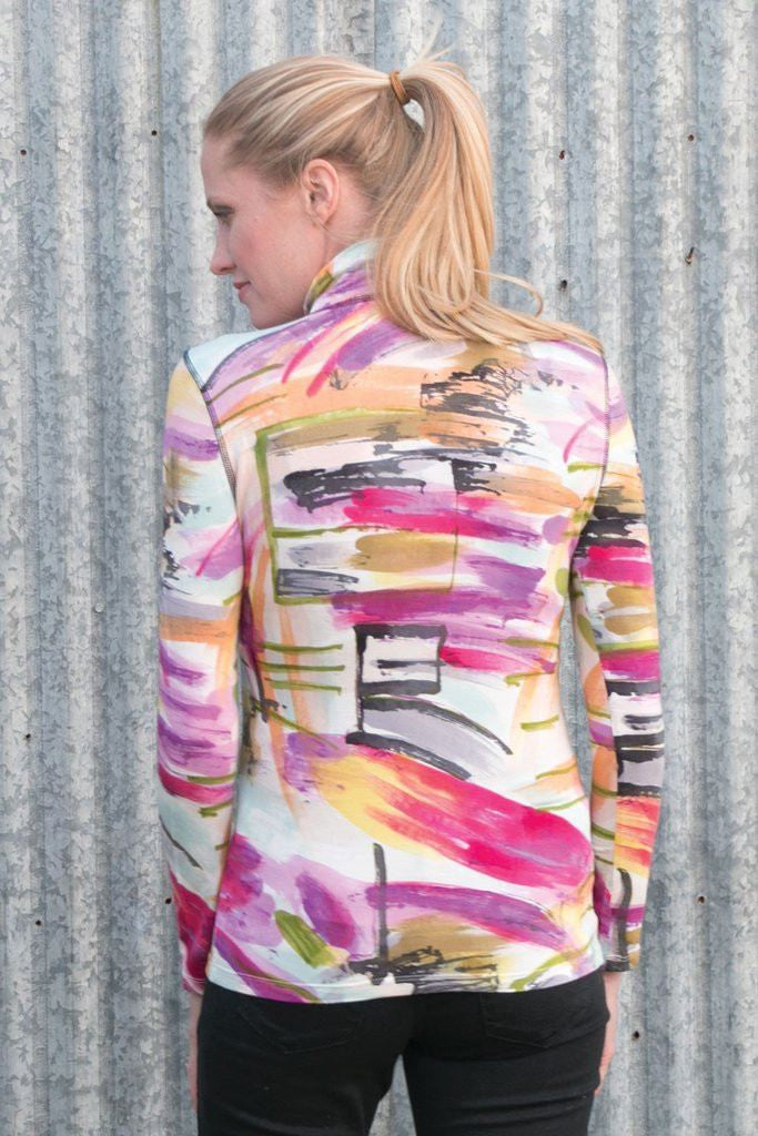 Krimson Klover Sweet Dreams Base Layer in Abstract - Saratoga Saddlery & International Boutiques