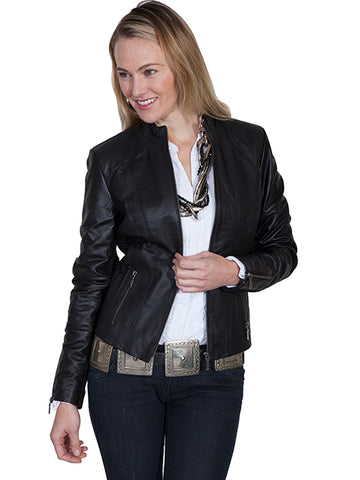 Gimo Women's Down Winter Coat in Black - ON SALE!