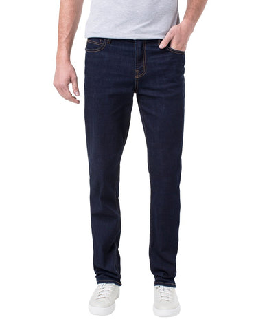 Liverpool Men's Kingston Modern Slim Straight Twill LGS300DC