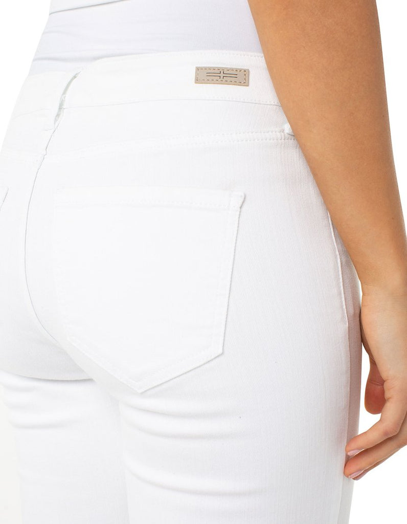 Liverpool Jeans Company Penny Ankle Skinny in White - LM2005QY-W - Saratoga Saddlery & International Boutiques