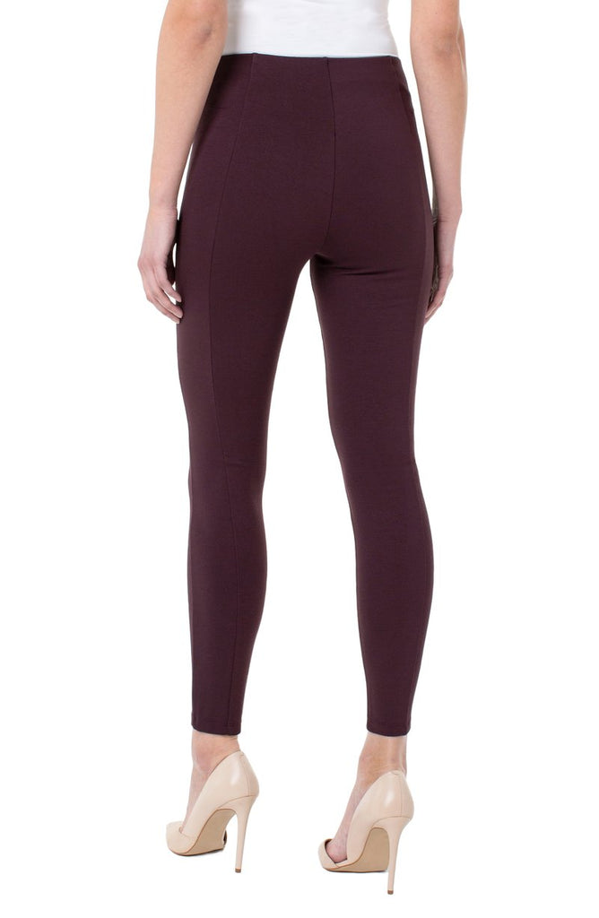Liverpool Reese Legging LM2356M42 Currant - Saratoga Saddlery & International Boutiques