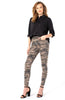 Liverpool ABBY HI-RISE Ankle Jeans in Camo Moss Color SKINNY WITH NOVELTY TAPE - Saratoga Saddlery & International Boutiques