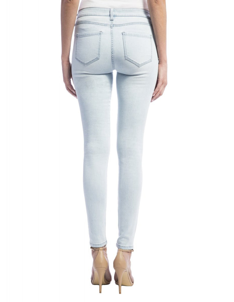 Liverpool Jeans Abby Skinny in Boulder Bleachout White