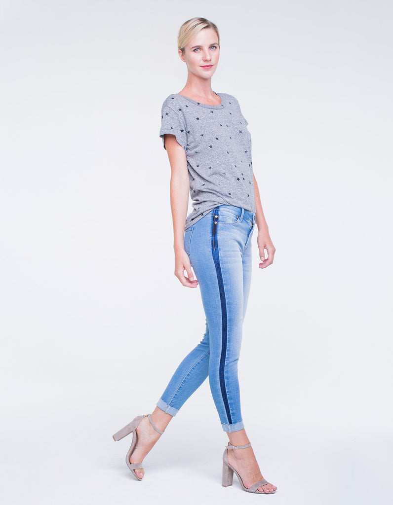 Liverpool Jeans Colton Crop Jean in Montecito