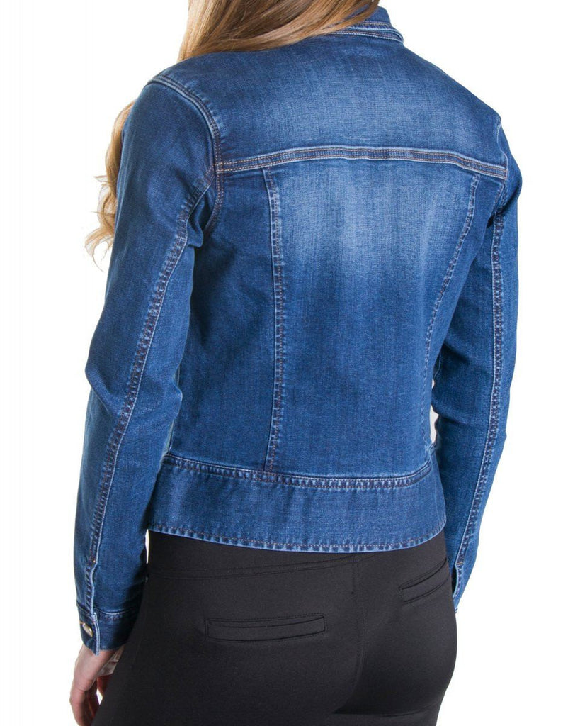 Liverpool Jeans Denim Zip Jacket