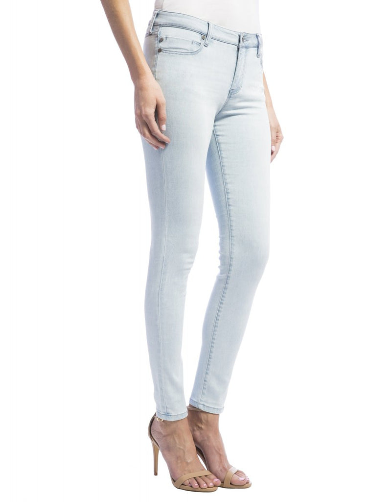 Liverpool Jeans Abby Skinny in Bleachout White