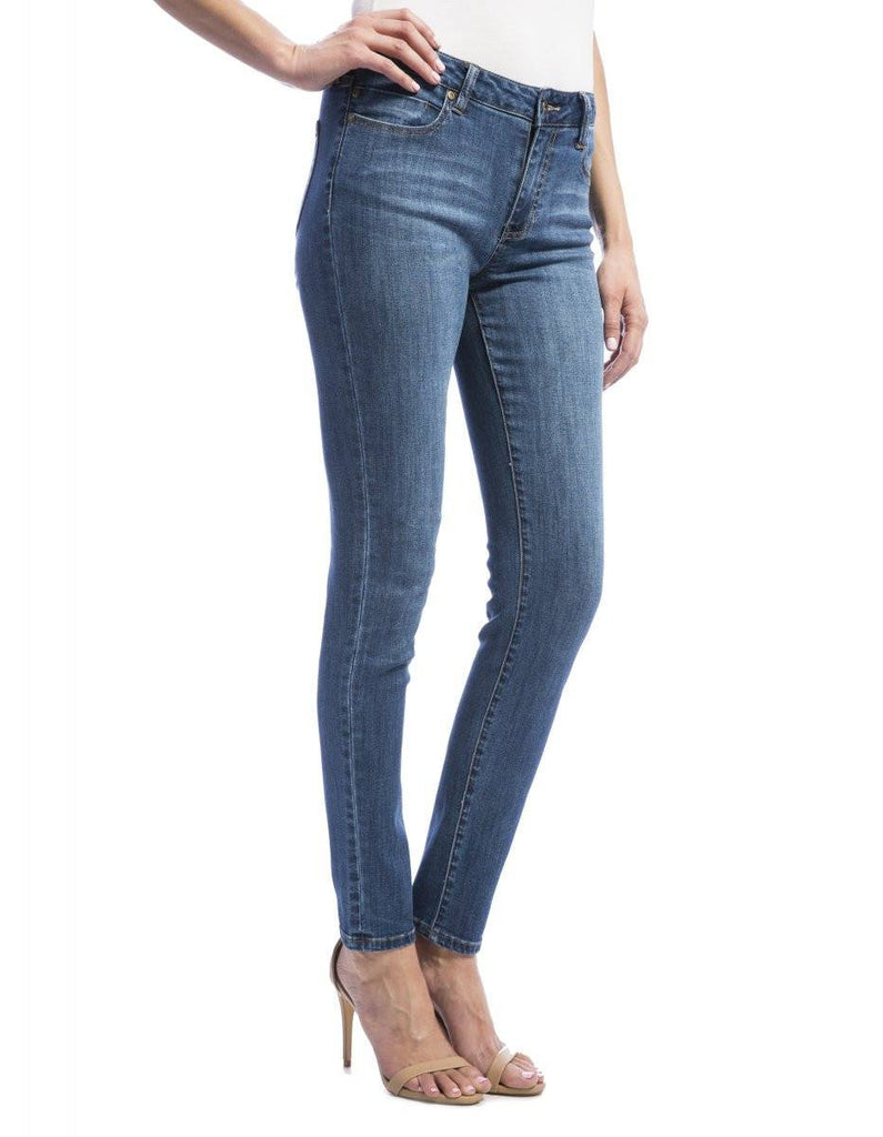 Liverpool Jeans Abby Skinny in Montauk Mid Blue