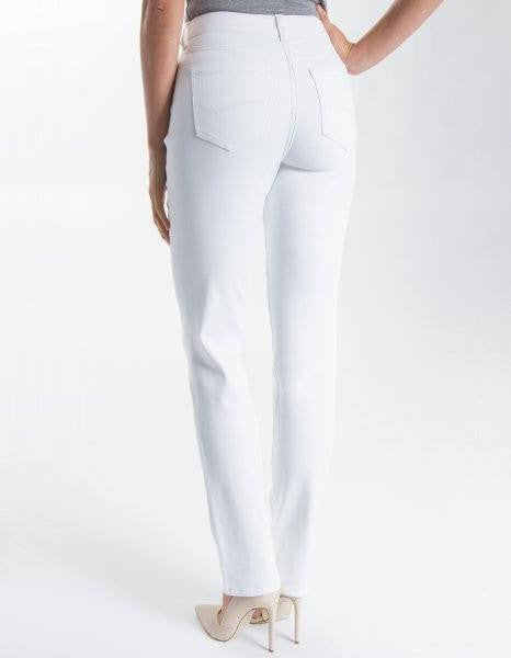 Liverpool Jeans Company Sadie Straight Leg Jeans in Bright White