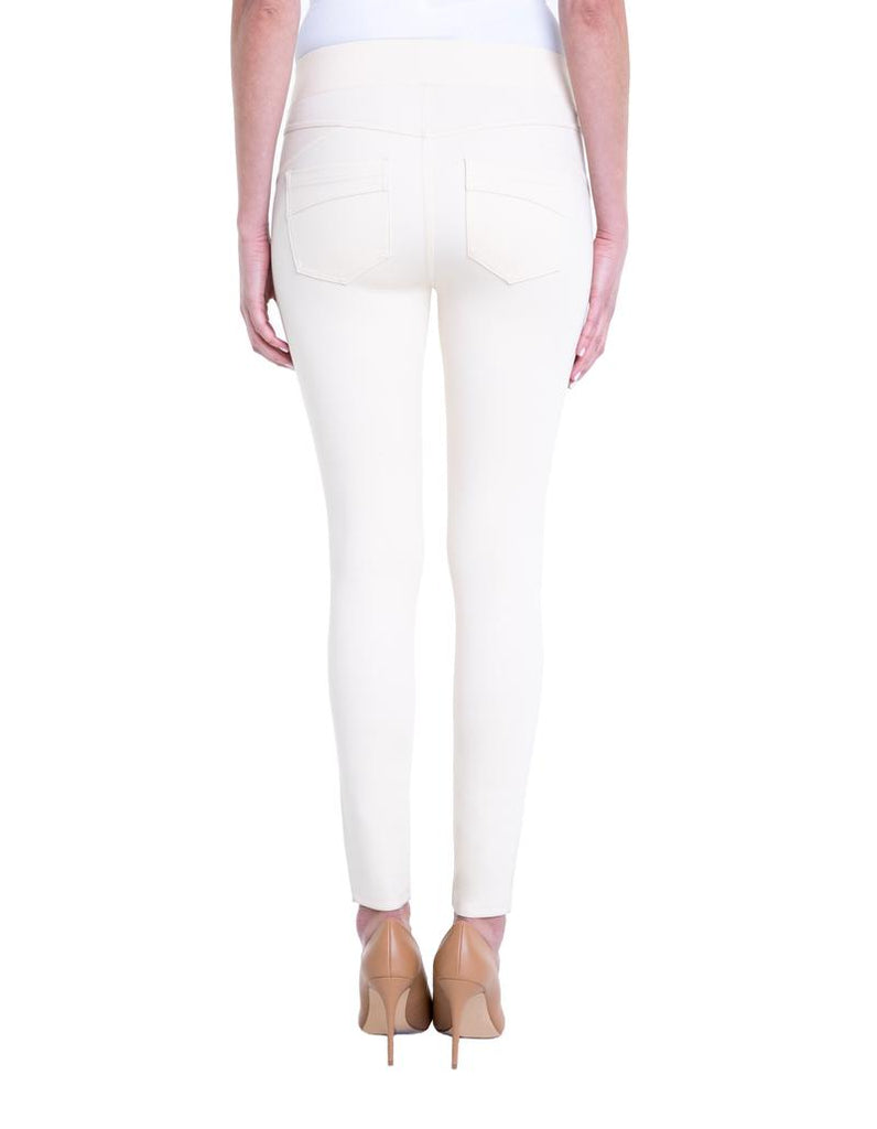 Liverpool Piper Hugger Legging in White Whisper