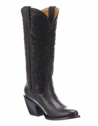 Lucchese Women's Blair Boot GY5502 - Anthracite Grey