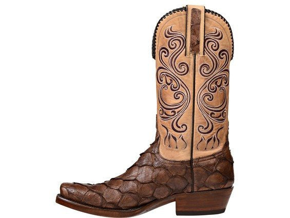 Lucchese Classic Men's Beau Custom Cowboy Boot - Saratoga Saddlery
