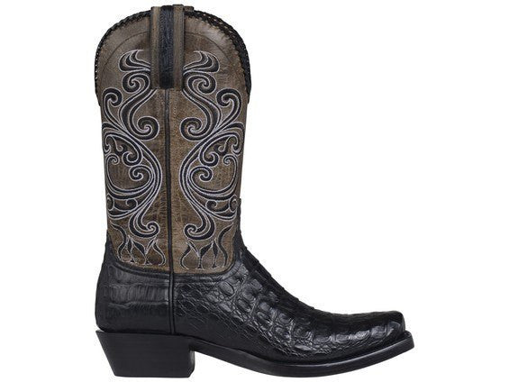 Lucchese Classic Men's Bodie Boot in Black - Saratoga Saddlery