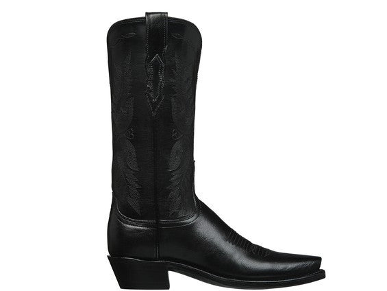 Lucchese 1883 Women's Amelia N4501.54 Boot in Black - Saratoga Saddlery