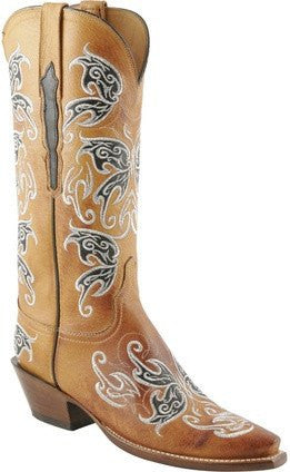 Lucchese Women's Classic L4671.54 Honey Burnished Handmade in Texas