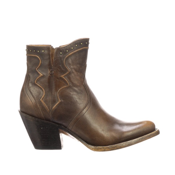 Lucchese Women's Karla Maple Studded Bootie - M6010