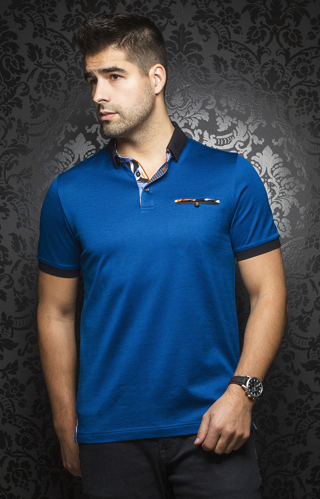 Au Noir Messina SS Polo Shirt