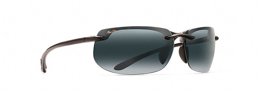 Maui Jim Banyans Sunglasses in Gloss Black with Neutral Grey Lens