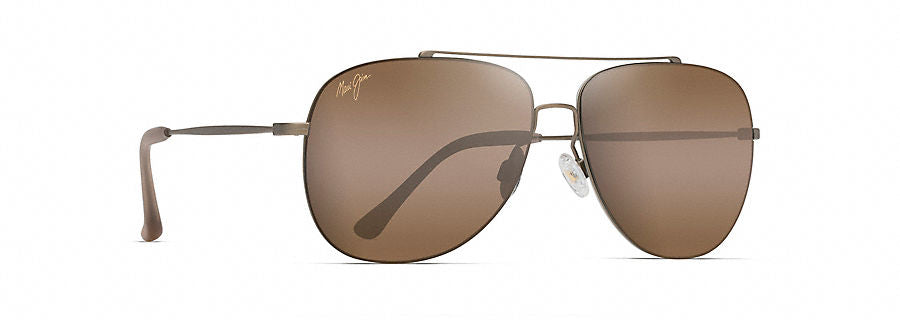 Maui Jim Cinder Cone Sunglasses in Gold Matte with HCL Bronze Lens - Saratoga Saddlery & International Boutiques