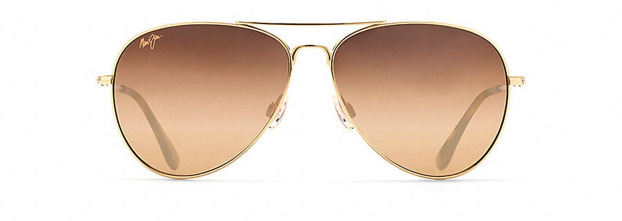 Maui Jim Mavericks Sunglasses in Gold with HCL Bronze Lens