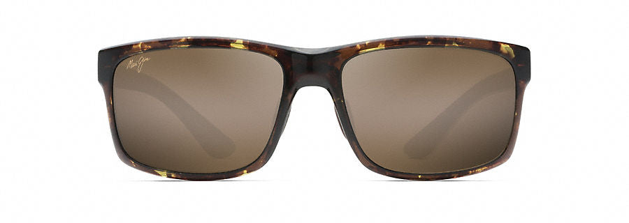 Maui Jim Pokowai Arch Sunglasses in Olive Tortoise with HCL Bronze Lens