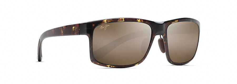 Maui Jim Pokowai Arch Sunglasses in Olive Tortoise with HCL Bronze Lens - Saratoga Saddlery & International Boutiques