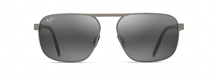 Maui Jim Waihe'e Ridge Sunglasses in Brushed Grey with Neutral Grey Lens - Saratoga Saddlery & International Boutiques