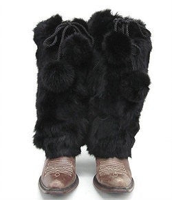 Mitchie's Matchings Rabbit Fur Boot Covers