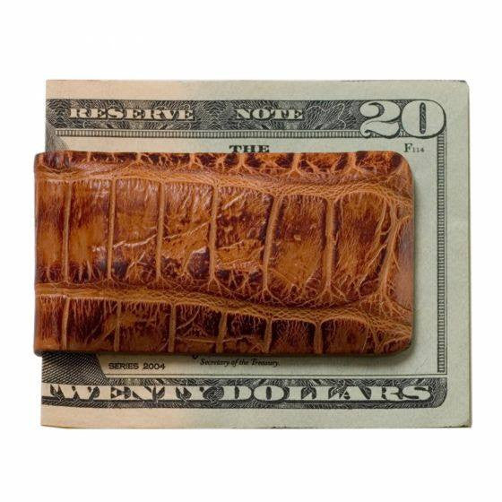 Moore & Giles Alligator Money Clip