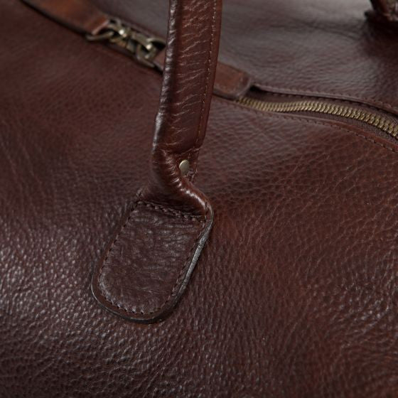 Moore & Giles Benedict Weekend Bag in American Bison