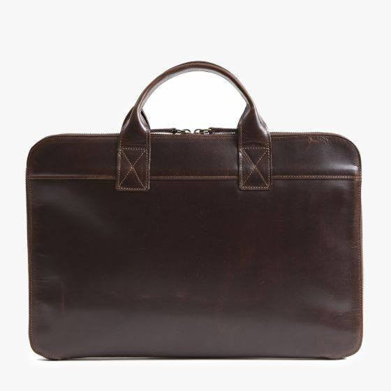 Moore & Giles Frances Slim Portfolio in Brompton Brown