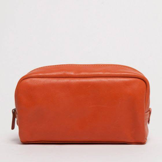 Moore & Giles Lucy Leather Makeup Bag