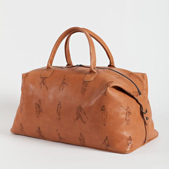 Moore and Giles Leather Weekend Bag Benedict Virginia Leather - Saratoga Saddlery & International Boutiques
