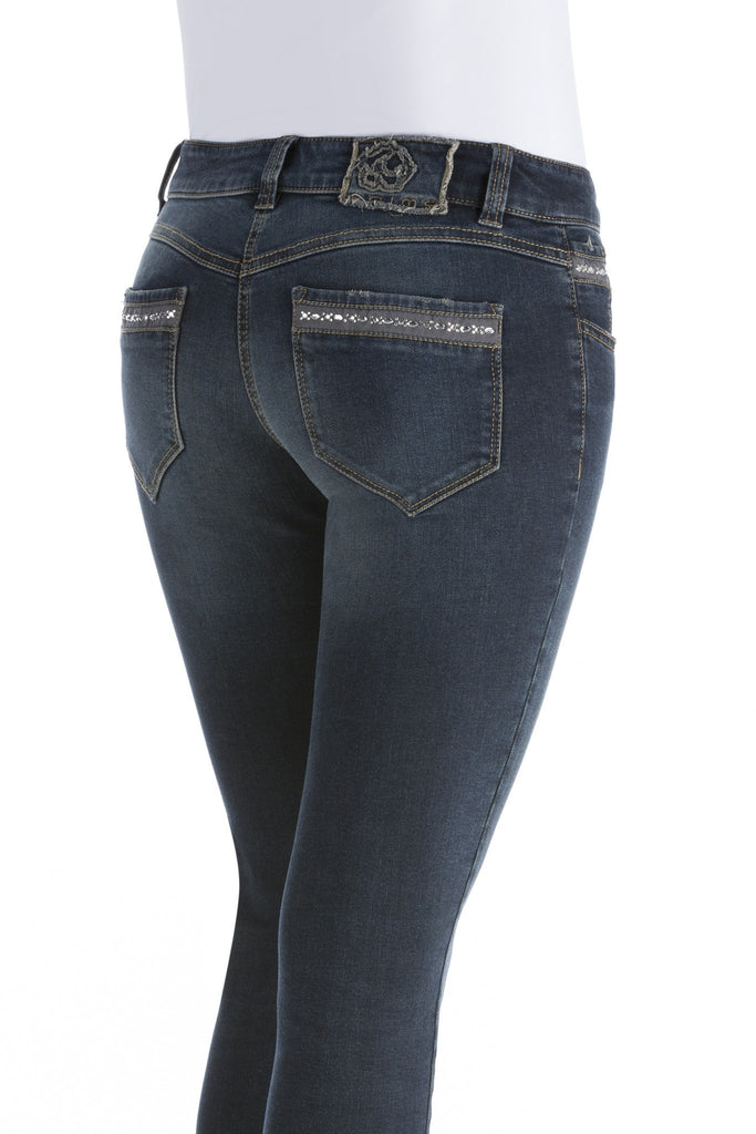 Animo NORTY Slim Jeans with Rhinestones pockets