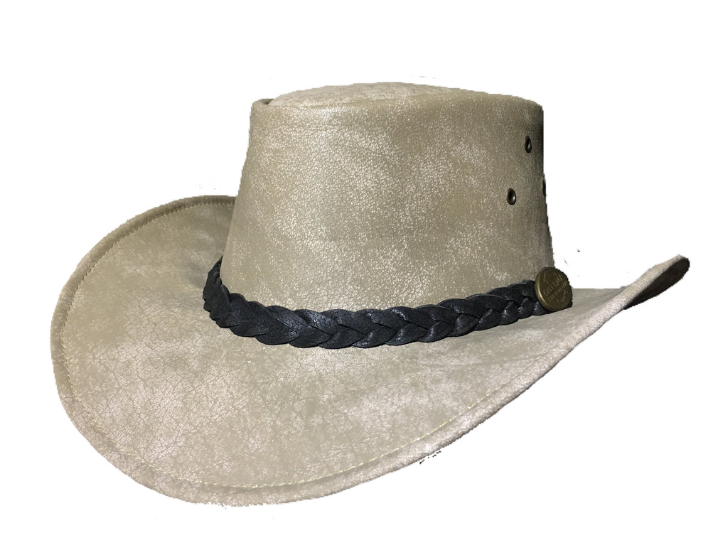 Outback Survival Gear - Maverick Crusher Hat in Bone (H4004)