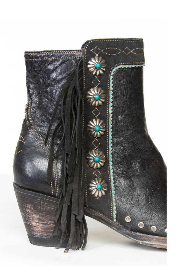 Double D Ranch Old Gringo Ranch Apache Kid Boot DDL-018 - Saratoga Saddlery & International Boutiques