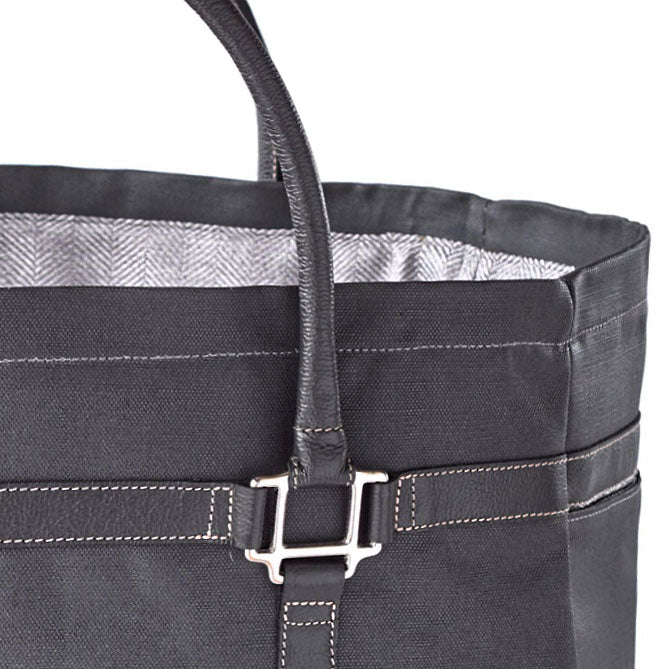 Oughton Limited Waxed Canvas Barn Tote