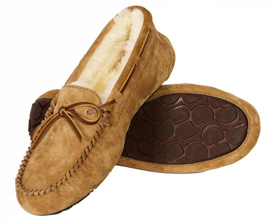 Old Friend australian Sheepskin slippers Outback Survival Gear Women's Devon Moccasin Slipper