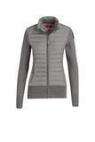 Parajumpers Women's Aput Knit Down Jacket in Grey Melange - Saratoga Saddlery & International Boutiques