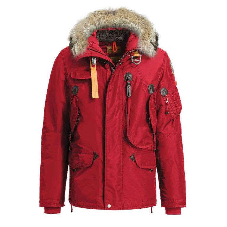 Parajumpers Men's Right Hand Jacket in Red; Parajumpers Men's Right Hand Jacket in ...