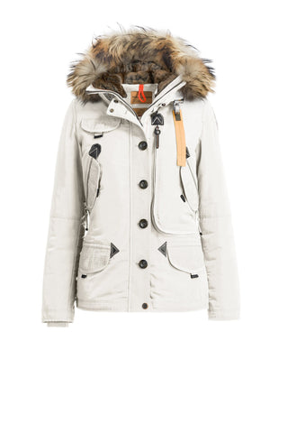 330097af ... jackets 1f64f aeae3; wholesale parajumpers womens doris coat in chalk  51d6b 78373