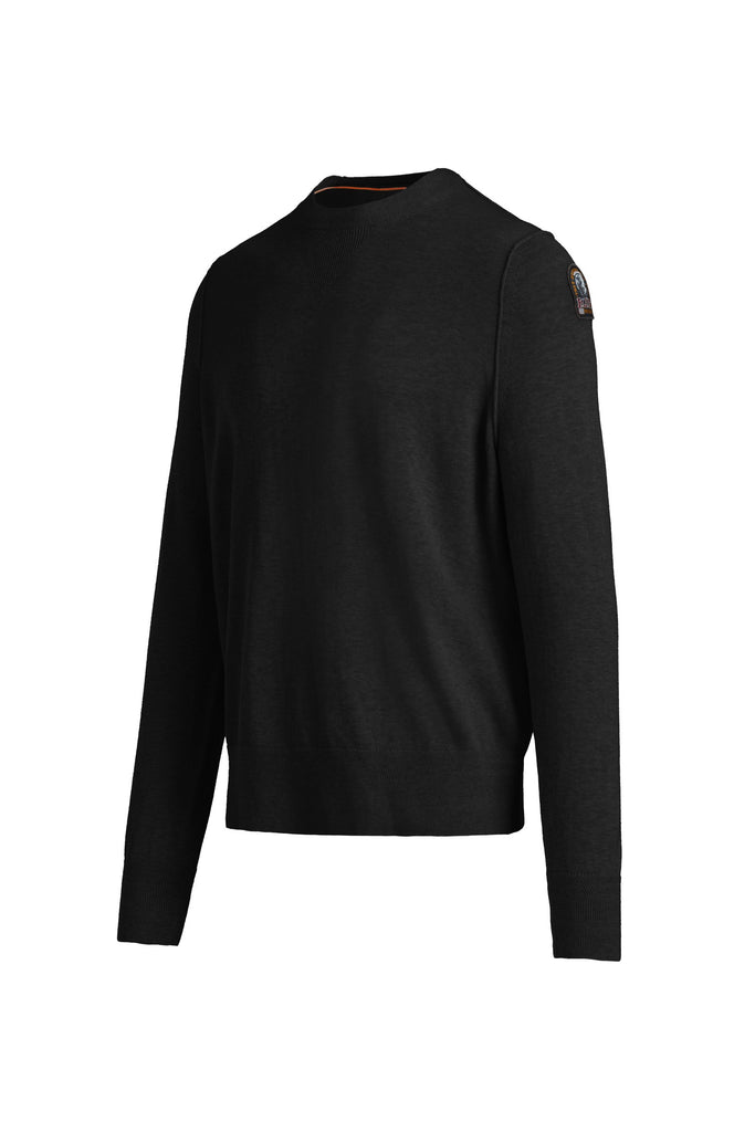 Parajumpers Men's Hatton Sweater in Black Melange